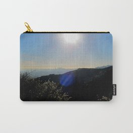 Los Angeles view from Runyon Canyon Carry-All Pouch