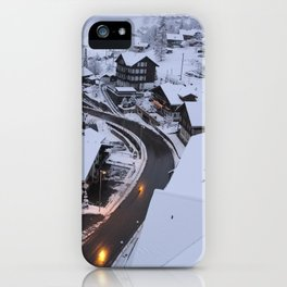 Wintery Grindelwald iPhone Case