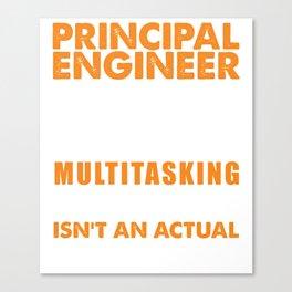 Principal Engineer Wizard Canvas Print
