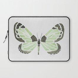 Green Grass Spring Butterfly Laptop Sleeve