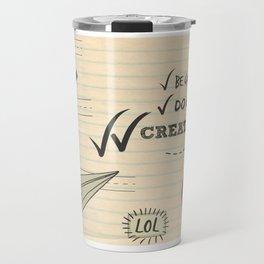 Create Good Travel Mug