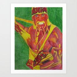 Hulkster Art Print