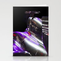 formula 1 Stationery Cards featuring McLaren Formula 1 car by SteveHphotos