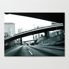 Los Angeles Hue Canvas Print