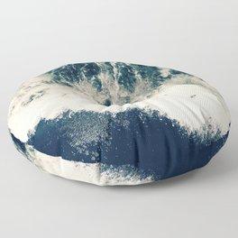 The Ocean Roars Floor Pillow