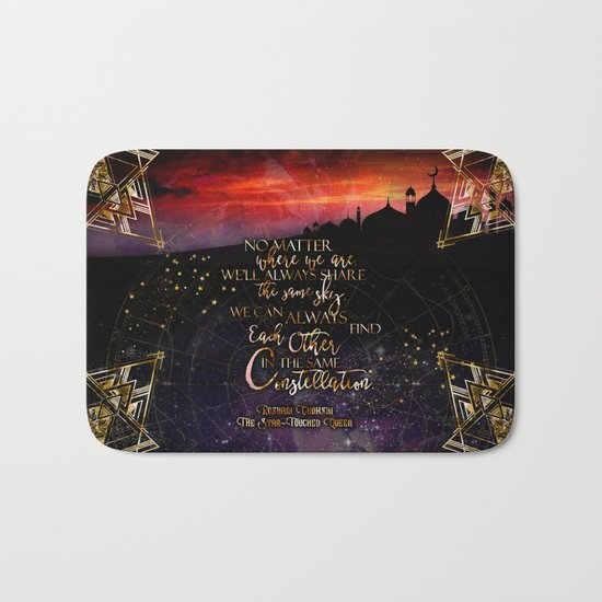 Constellation - The Star Touched Queen Bath Mat