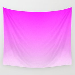 Pink Ombre flames Wall Tapestry