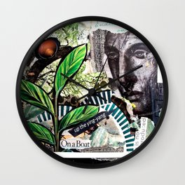 Water Goddess by Kathy AUgustine Wall Clock