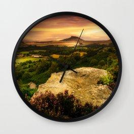 Summer Heat Wall Clock