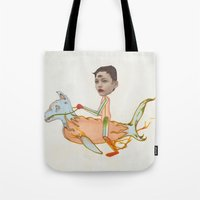charmaine olivia Tote Bags featuring Olivia by Noah Zark