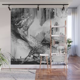 Isolation comes in black Wall Mural