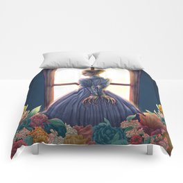 Lady of March Comforters