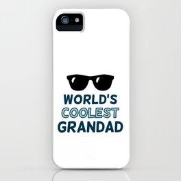 World's Coolest Grandad iPhone Case