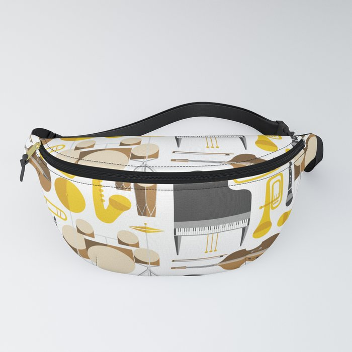 Jazz instruments Fanny Pack