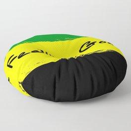 Jamacian Design 333 Floor Pillow
