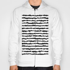 Brush Stripes Hoody