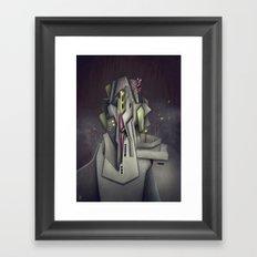 Fog Collar Framed Art Print