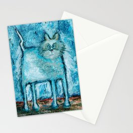 A bit tensed Stationery Cards