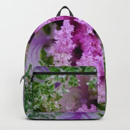 Decorative cabbage pattern Backpack