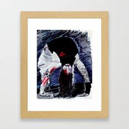 Bloody Bray Wyatt Framed Art Print