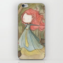 Merida in the forest iPhone Skin