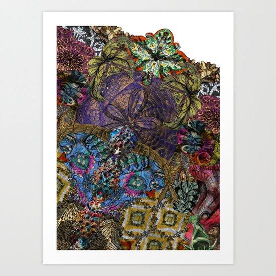 Psychedelic Botanical 8 Art Print