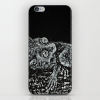 philippines iPhone & iPod Skins featuring Bohol Tarsier from the Philippines by Nathan Cole