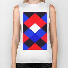 Red, White and Blue - 3 Biker Tank