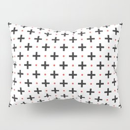 Plus Red Dot Pillow Sham
