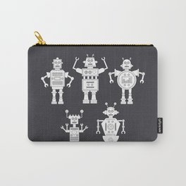 androids b&w Carry-All Pouch