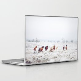 Winter Horses Laptop & iPad Skin