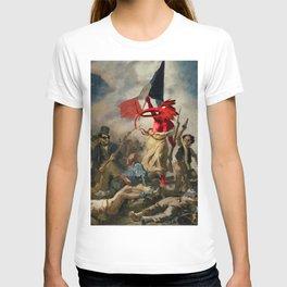 DM : Where's The Revolution -Delacroix- T-shirt
