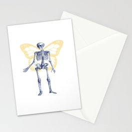 Skeleton Fairy Stationery Cards