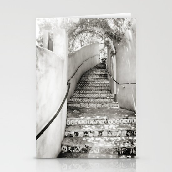 Ceramic Stairway Stationery Cards