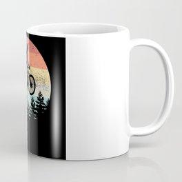 Mountain Biking Sunset Cyclist MTB Gift Coffee Mug