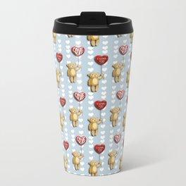 Bear, Bear Patterns Travel Mug