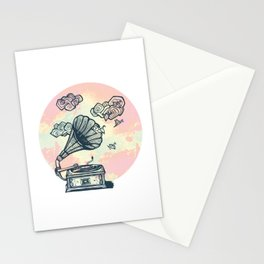 Dream Gramophone Stationery Cards