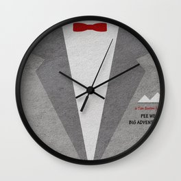 Pee-Wee's Big Adventure Wall Clock