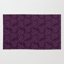 Meredith Paisley - Purple Rug