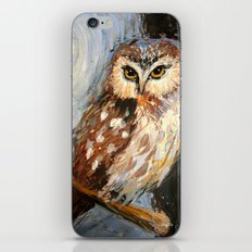 I Love You To The Moon And Back Owl iPhone & iPod Skin