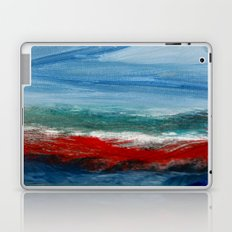 By the Angry Seashore Laptop & iPad Skin