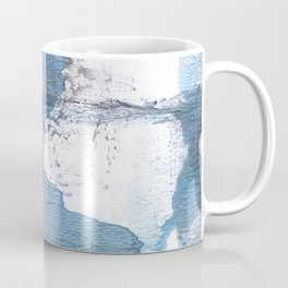 Blue hand-drawn watercolor Coffee Mug