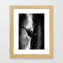 Hermione dark Framed Art Print