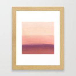 Sunday Morning Easy Framed Art Print