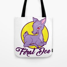 My Feral Doe Logo Tote Bag