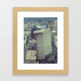 Obscure Me Milwaukee Framed Art Print
