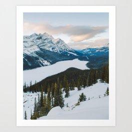 Peyto Lake, Alberta Art Print