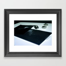 Examine Framed Art Print