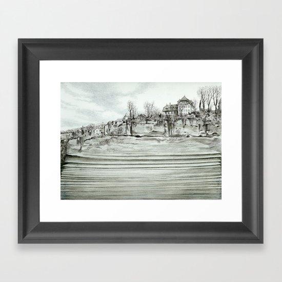 City layers Framed Art Print