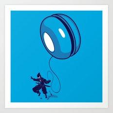 ninja yo-yo Art Print